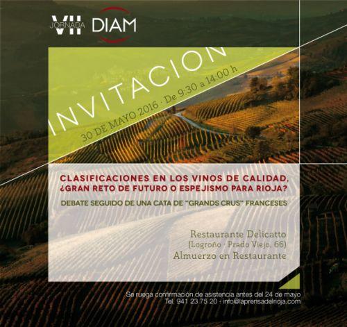 VII Jornada Diam: dibattito sulla classificazione dei vini della Rioja