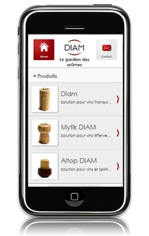 Diam lancia il suo sito Internet Mobile!